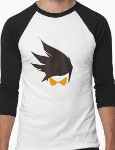 Tracer Hair and Goggles Vector Men's Baseball ¾ T-Shirt