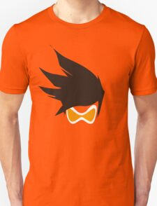 Tracer Hair and Goggles Vector Unisex T-Shirt