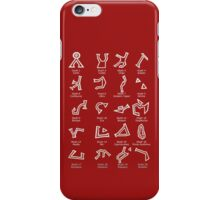 Dialing Address Glyph Set 1 Dark Backgrounds iPhone Case/Skin