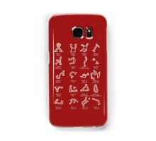 Dialing Address Glyph Set 1 Dark Backgrounds Samsung Galaxy Case/Skin