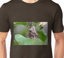 Large Brown Butterfly Unisex T-Shirt