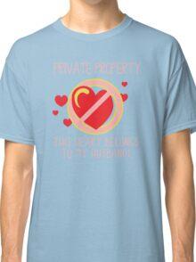 Heart Belongs To Husband Classic T-Shirt