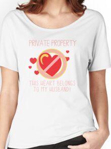 Heart Belongs To Husband Women's Relaxed Fit T-Shirt