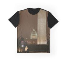 Capitol by Night Graphic T-Shirt