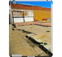 Vacant Lot - Brady, Texas iPad Case/Skin