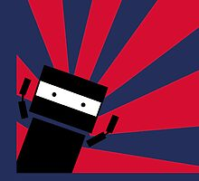 Ninja Robot by Stacey Roman