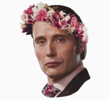 Hannibal Lecter Flower Crown by Kelsi Fairbairn