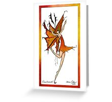 Fire Faery Greeting Card