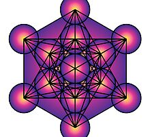 Metatron's Cube by GalacticMantra