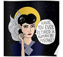 Replicant or Human? Poster