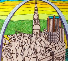 St. Louis, the gateway to the West (My dreams of America part 3) by gheider