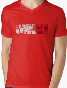 MKVI (white) Mens V-Neck T-Shirt