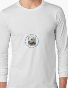 Pit Bulls Love Unconditionally Long Sleeve T-Shirt