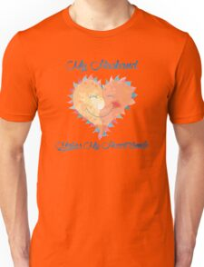 Husband Makes My Heart Smile Unisex T-Shirt