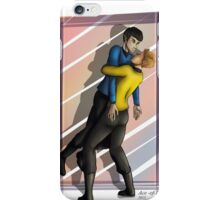 Spock and Kirk iPhone Case/Skin