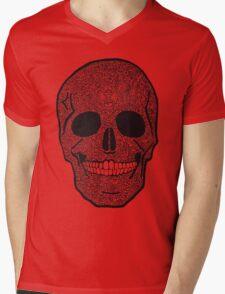 skullz Mens V-Neck T-Shirt