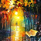MISTY PARK by Leonid  Afremov