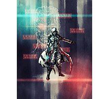 Cyberpunk Mercenary Photographic Print