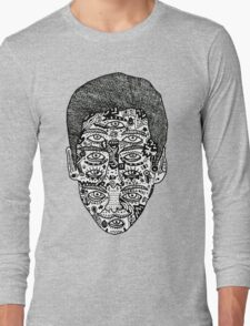 strange face Long Sleeve T-Shirt