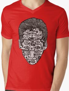 strange face Mens V-Neck T-Shirt