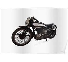 1933 Norton 350 International Poster
