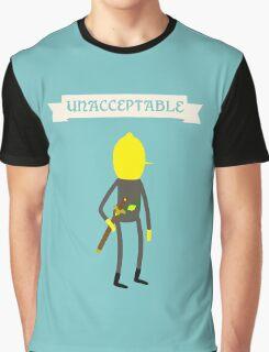 Earl of Lemongrab Unacceptable Graphic T-Shirt