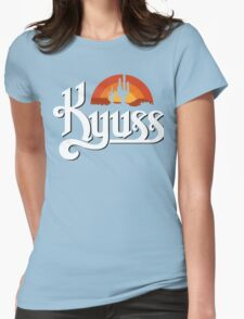 Kyuss Black Widow Stoner Rock Queens Of The Stone Age Clutch  Womens Fitted T-Shirt