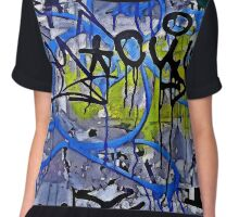 Graffiti #55 Chiffon Top