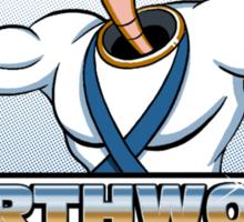 Earthworm Gym Sticker