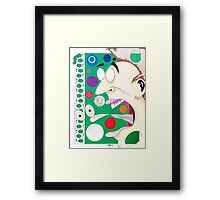 Twist (Your Tongue) and Shout Framed Print