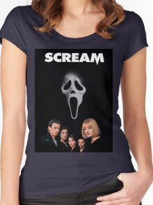 Scream 1 Women's Fitted Scoop T-Shirt