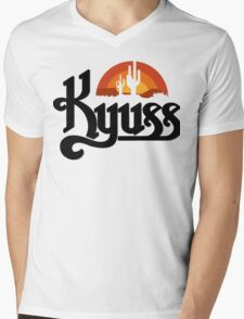Kyuss Black Widow Stoner Rock Queens Of The Stone Age Clutch  Mens V-Neck T-Shirt