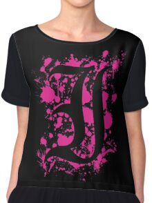 Every Time I Die - Negative Space 'I' Chiffon Top