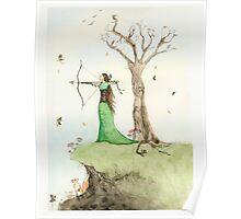 Elf Maiden Poster