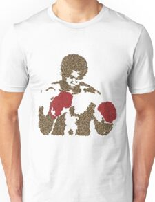 Muhammad Ali Inspired Art Made of Butterflies and Bees Unisex T-Shirt