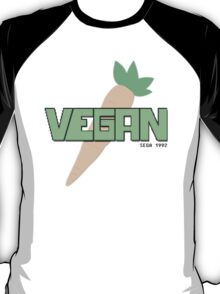 Vegan Retro T-shirt T-Shirt