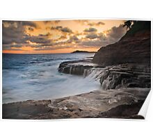 Hawaii Sunset Poster