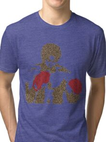 Muhammed Ali Float Like A Butterfly Sting Like A Bee Tri-blend T-Shirt