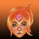 Flame Princess :: Adventure Time by Kristin Frenzel