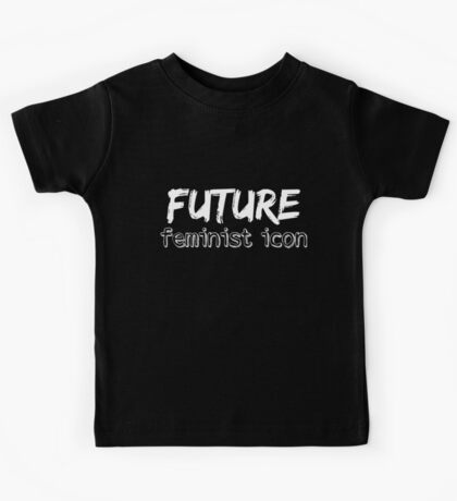 Future Feminist Icon - White Kids Tee