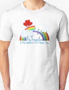 Boyfriend Is My Rainbow Unisex T-Shirt