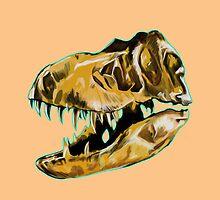 Tyrannosaurus Rex Skull by Kristin Frenzel