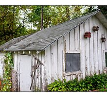 Shed With Birdhouses by Harvey Tillis