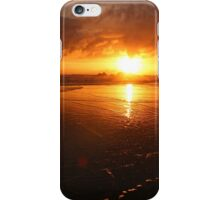 Sunset at Cannon Beach iPhone Case/Skin
