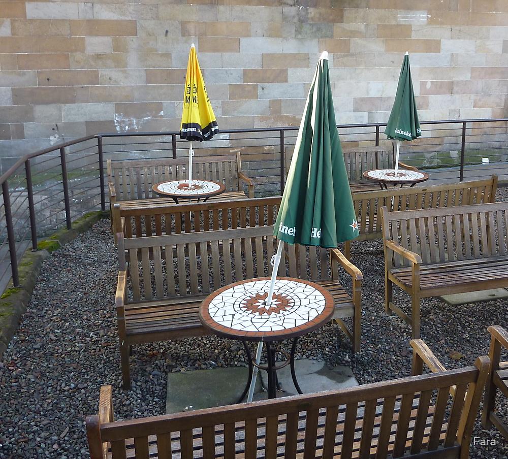 Glasgow Beer Garden..............Scotland by Fara