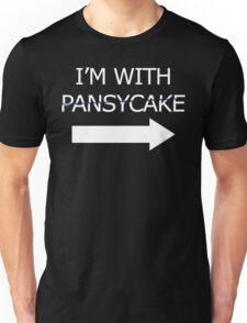 I'm With Pansycake Unisex T-Shirt