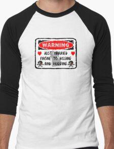 Just Married Men's Baseball ¾ T-Shirt