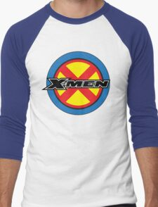 X-MEN Logo Men's Baseball ¾ T-Shirt