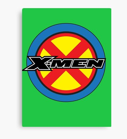 X-MEN Logo Canvas Print