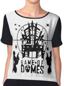 Game Of Domes Chiffon Top